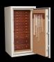 Ivory Jewelry Safe with Bubinga Wood Drawers