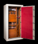 Ruby Elite Luxury Jewelry Safe with Watch Winders and Gun Storage