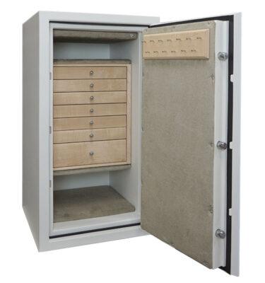 Casoro Classic C34 Jewelry Safe with 7 drawers