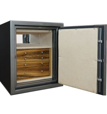 Sapphire Jewelry Safe with Drawers