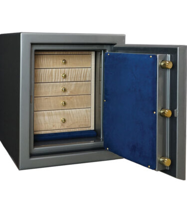 Topaz Jewelry Safe with Drawers