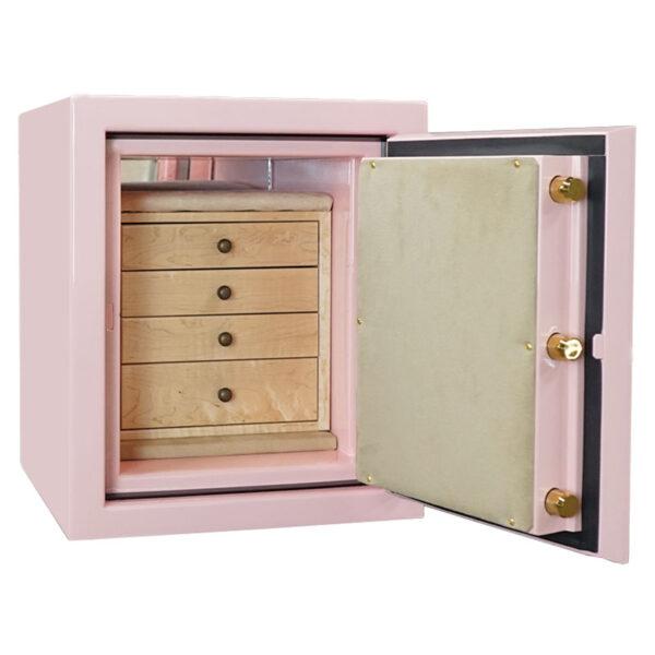 Topaz Jewelry Safe in Precious Pink