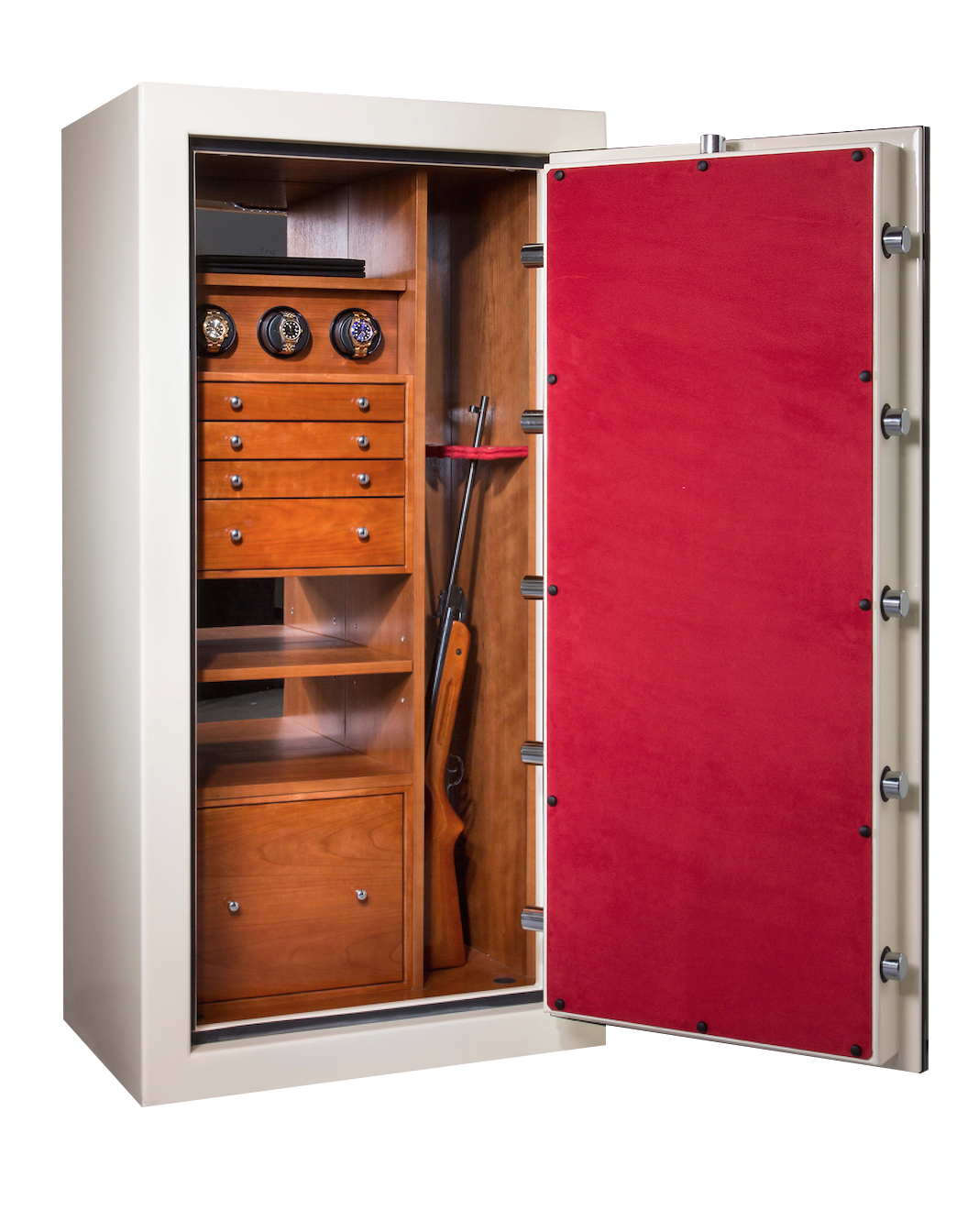 Luxury custom jewelry safes for the home for Custom home safes