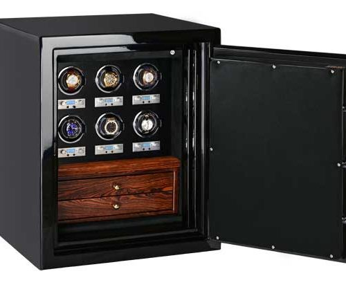 Sapphire in Onyx, Bocote and Ebony with 6 Winders + 2 Drawers