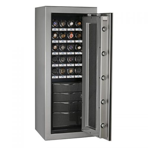 Kairos K2 in Titanium with 24 Watch Winders and 4 Drawers